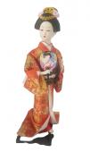 Boneca Gueixa Oriental Japonesa Modelo 12 KL