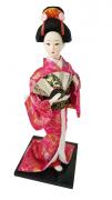 Boneca Gueixa Oriental Japonesa Modelo 24 KL