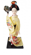 Boneca Gueixa Oriental Japonesa Modelo 28 KL