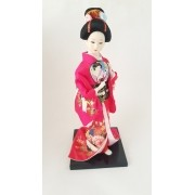 Boneca Gueixa Oriental Japonesa Modelo 2 KL