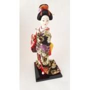 Boneca Gueixa Oriental Japonesa Modelo 3 KL