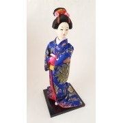 Boneca Gueixa Oriental Japonesa Modelo 7 KL