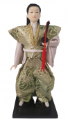 Boneco Samurai Oriental Japonês Modelo 4 KL