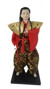 Boneco Samurai Oriental Japonês Modelo 5 KL