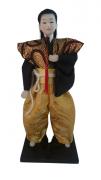Boneco Samurai Oriental Japonês Modelo 7 KL