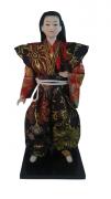 Boneco Samurai Oriental Japonês Modelo 9 KL