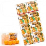 Chiclete Marukawa Sabor Laranja - Bubble Gum Orange 8 unidades
