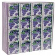 Chiclete Marukawa Sabor Uva - Bubble Gum Grape 32 unidades