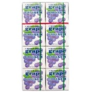 Chiclete Marukawa Sabor Uva - Bubble Gum Grape 8 unidades