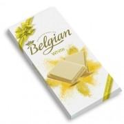 Chocolate Belgian em Barra Branco White 100g