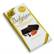Chocolate Belgian em Barra com Amêndoas Dark Almond 100g