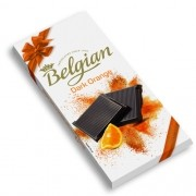 Chocolate Belgian em Barra com Laranja Dark Orange 100g