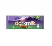 Chocolate Milka Darkmilk Sabor Amêndoas Almond 85g