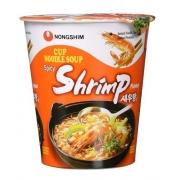 Cup Noodle Coreano NongShim Big Bowl Shrimp Sabor Camarão 67g