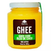 Manteiga Benni Ghee com Óleo de Coco 200g