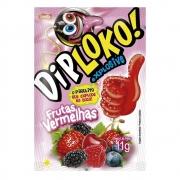 Pirulito Explosivo Diploko Frutas Vermelhas