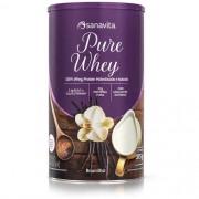 Pure Whey Protein Sanavita Sabor Baunilha 375g
