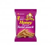 Salgadinho Honey Flavored Twist Snack 75g - Nongshim