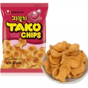 Salgadinho Polvo Tako Chips 60g Importado Coreia - Nongshim