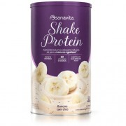 Shake Protein Sanavita Sabor Banana com Chia 375g