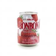 SUCO DE MORANGO COM PEDAÇOS DA FRUTA BON BON HAITAI - 235ML
