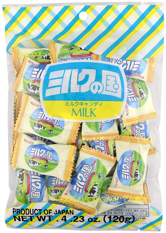 Bala de Leite Kasu Milk Candy