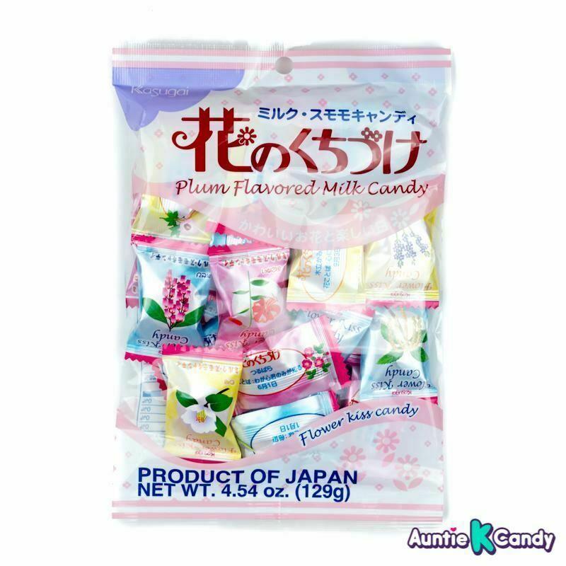 Bala de Leite Kasugai Aroma de Flores - Flower Flavored Milk Candy