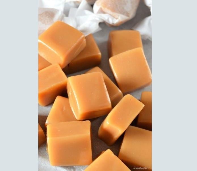 Bala de Leite Taiwanesa Sabor Caramelo 97g