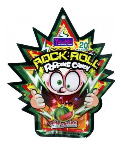 Bala Explosiva Yuhin Hk Sabor Lichia - Lychee Rock Roll Popp