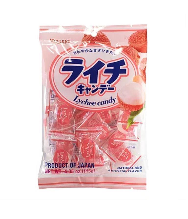 Bala Kasugai Sabor Lichia - Lychee Candy
