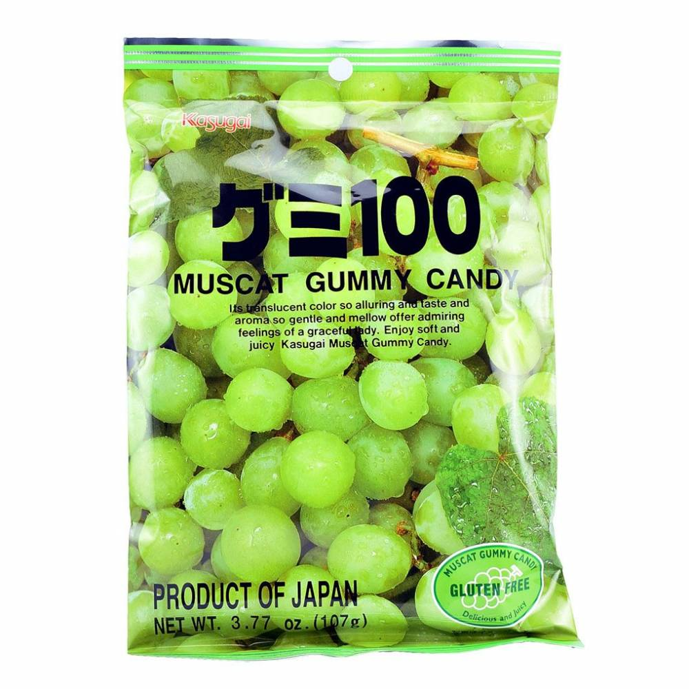 Bala Kasugai Sabor Uva - Muscat Grape Gummy Candy