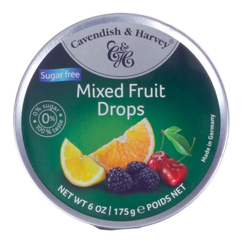 Balas cavendish & harvey 175g mixed fruit drops