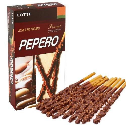 Biscoito De Palito Pepero Peanut Amendoim 32g
