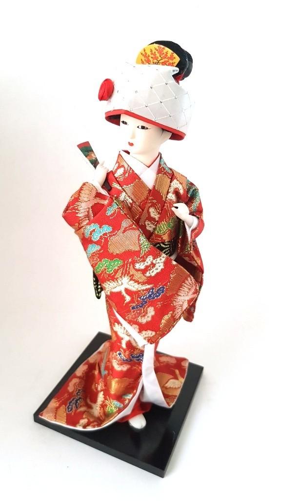 Boneca Gueixa Oriental Japonesa Modelo 5 KL