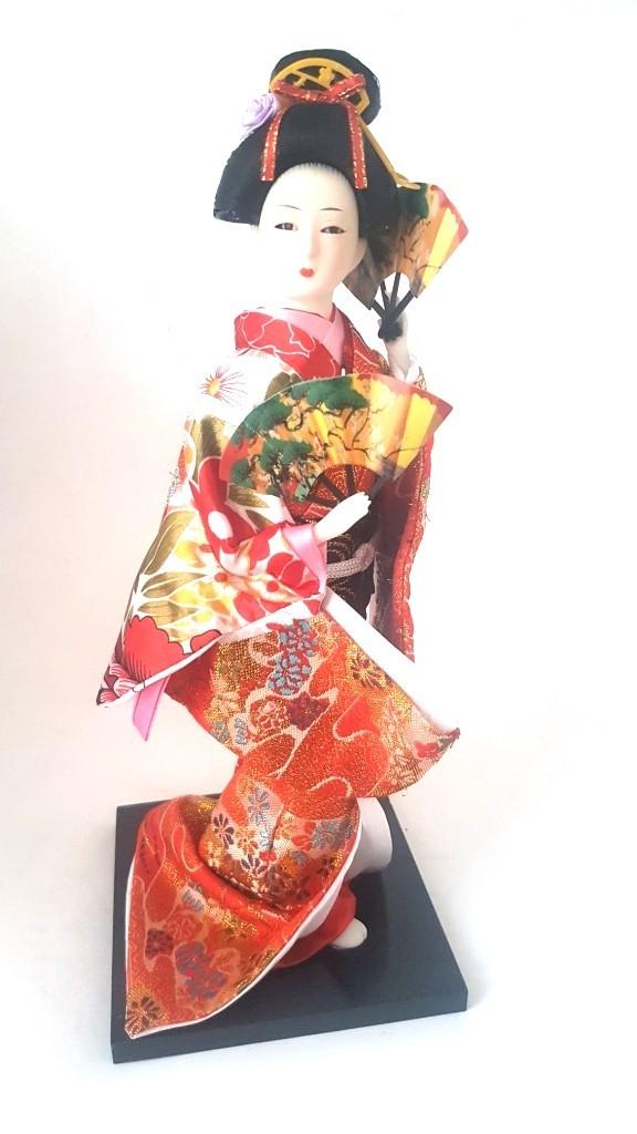Boneca Gueixa Oriental Japonesa Modelo 9 KL