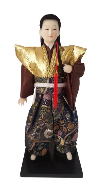 Boneco Samurai Oriental Japonês Modelo 10 KL