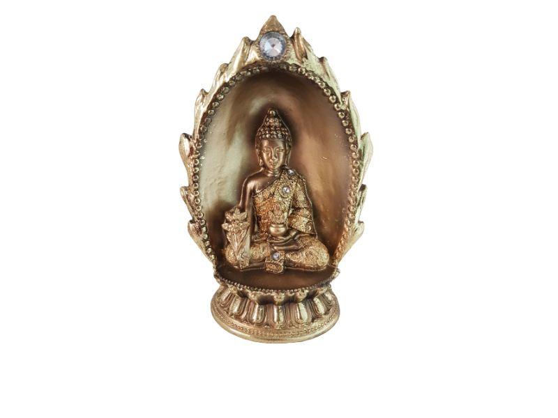 Buda Shakyamuni Dourado 19 cm KL