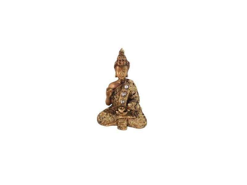 Buda Sidarta Gautama Resina 9 cm KL