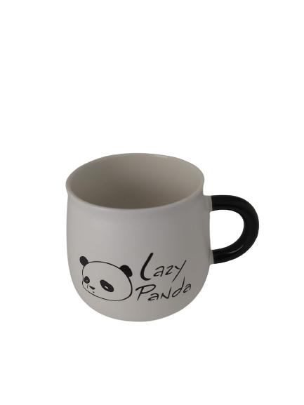 Caneca Panda Com Colher - 350ML - KL