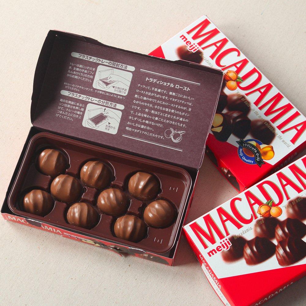 Chocolate Meiji com Recheio de Macadâmia 75g