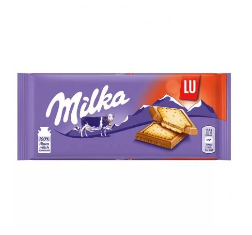 Chocolate Milka Lu Sandwich 87g