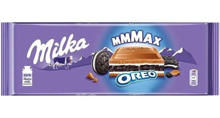 Chocolate Milka Oreo MMMax 300g