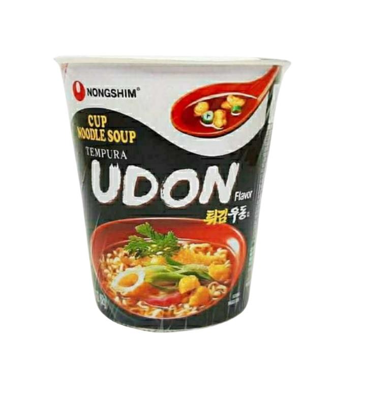 Cup Noodle Coreano NongShim Big Bowl Sabor Tempurá Udon 62g