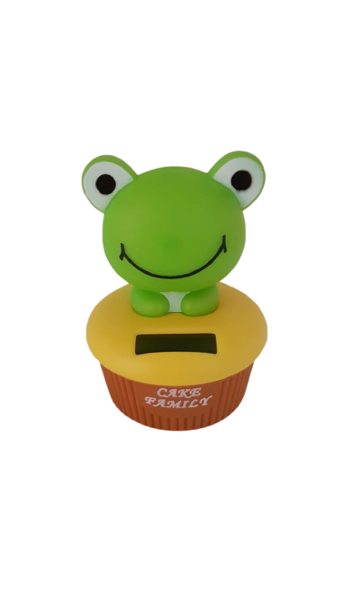 Enfeite Solar Sapo Cup Cake - KL