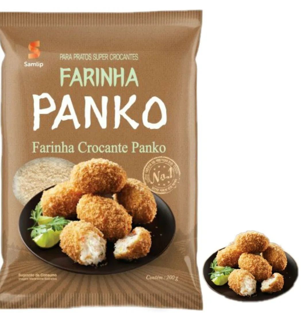 FARINHA PARA EMPANAR CROCANTE PANKO SAMLIP - 500g
