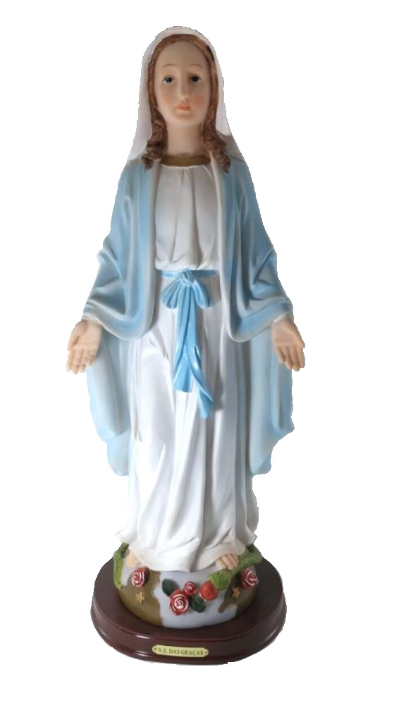 Imagem Nossa Senhora Das Graças 40cm Em Resina