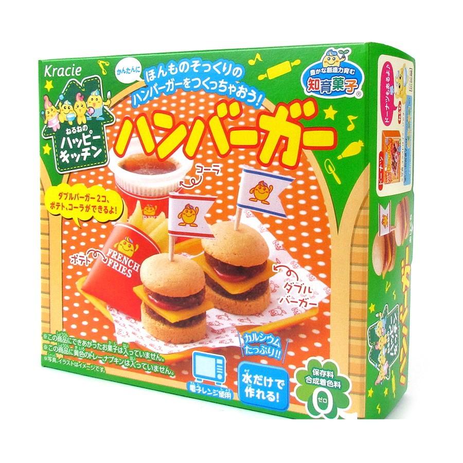 Kit Hamburger Japonês Kracie Happy Kitchen