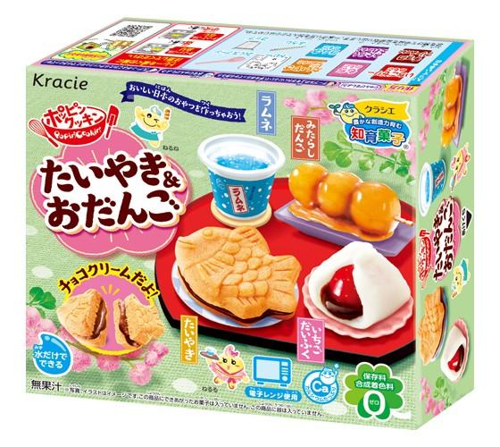 Kit P/ Preparo De Doce Kracie Popin Cookin Taiyaki Dango