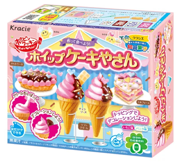 Kracie Sorvete Japonês Ice Cream para Montar