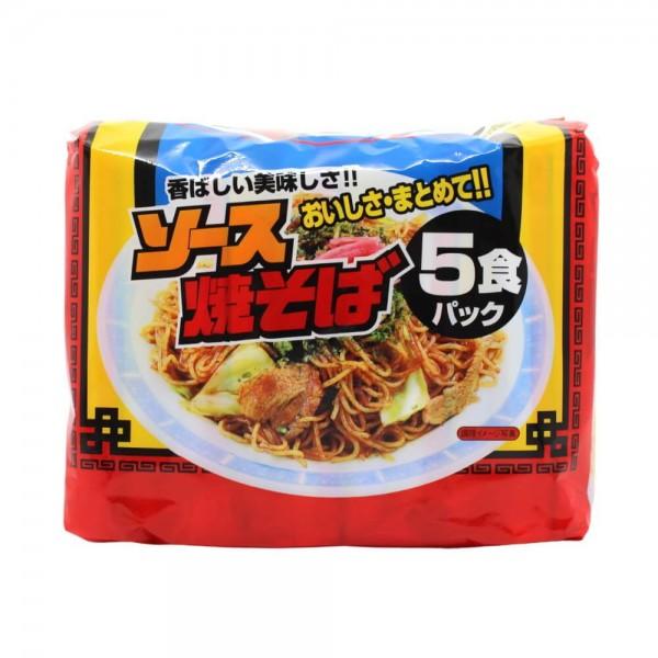 Macarrão Instantâneo Lamen Yakisoba Noodle 5p - Sunaoshi 410g